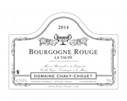 Bourgogne Rouge La Taupe - Domaine Chavy-Chouet - 2013 - Rouge