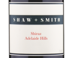 Shiraz - SHAW & SMITH - 2015 - Rouge