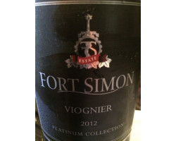 Viognier Late Harvest - Fort Simon - 2017 - Blanc
