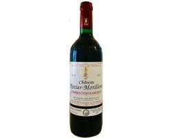 Château ROZIER-MORILLONS cuvée classique 2002 - Vignobles Crachereau - 2002 - Rouge