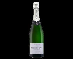 Le Blanc de Blancs Premier Cru - Champagne de Saint-Gall - Non millésimé - Effervescent