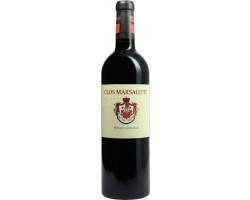 Clos Marsalette - Vignobles Comtes Von Neipperg - 2018 - Rouge
