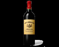 Le Carillon de l'Angélus - Château Angélus - 2015 - Rouge