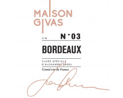 MAISON GIVAS N 3 - Famille Sadel - 2016 - Rouge