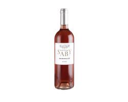 Château Saby Rosé - Vignoble Saby - Non millésimé - Rosé