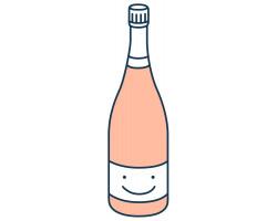 Grand Rosé Brut - Champagne Gaudinat-Boivin - Non millésimé - Effervescent
