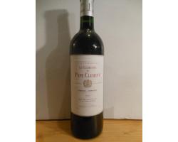 Le Clémentin de  Pape Clément - Château Pape Clément - 2000 - Rouge