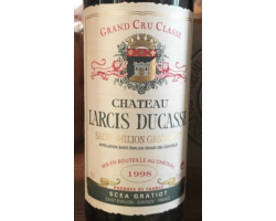Château Larcis-Ducasse - Château Larcis-Ducasse - 1994 - Rouge