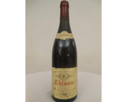 Chinon - Domaine du Moulin à Tan - 1997 - Rouge