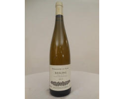 Riesling - Domaine le Fort - 2013 - Blanc