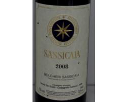 Sassicaia - Tenuta San Guido - 2017 - Rouge