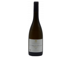 Refuge de Chavannes - DOMAINE DE L'ENCHANTOIR - 2016 - Blanc
