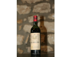 Domaine De Chemin Royal - Domaine de chemin Royal - 1964 - Rouge