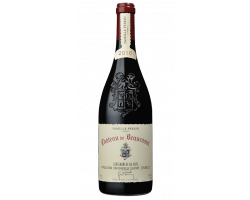 Beaucastel - Famille Perrin - Château de Beaucastel - 2016 - Rouge