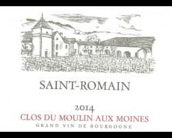 Saint-Romain - Clos du Moulin aux Moines - 2014 - Blanc