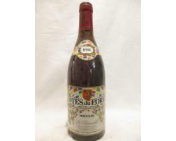 Côtes Du Forez La Pastourelle - Vignerons Foréziens - 1991 - Rouge