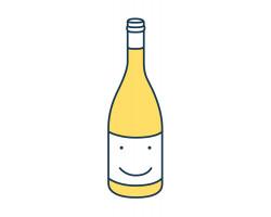 Le Bonheur est dans les Vignes - Domaine la Destinée - 2014 - Blanc