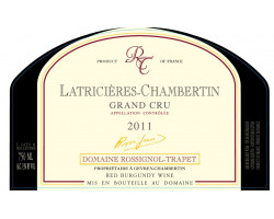LactriciÈres-chambertin - Domaine Rossignol-Trapet - 2006 - Rouge
