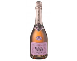BLANC FOUSSY - BLANC FOUSSY TETE DE CUVEE ROSE - Blanc Foussy - Grandes Caves Saint Roch - 2016 - Effervescent