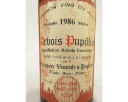 Fruitière Vinicole - Fruitière Vinicole d'Arbois - 1986 - Blanc