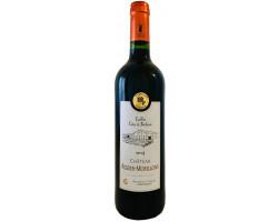 Château ROZIER-MORILLONS - Cuvée classique - Vignobles Crachereau - 2014 - Rouge
