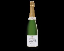 Brut Nature - Champagne Prestige des Sacres - Non millésimé - Effervescent