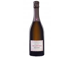 Brut Nature Rosé - Champagne Drappier - Non millésimé - Effervescent