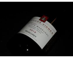 Mercurey Vieilles Vignes - Domaine Jean Marechal - 2018 - Rouge