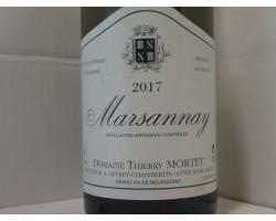 Marsannay - Domaine Thierry Mortet - 2017 - Blanc