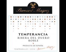 Temperancia Roble - Bernard Magrez - 2018 - Rouge