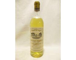 Graves Supérieures Sec (années 1960 À 1970) - Vignobles Darriet - Château Moutin - Non millésimé - Blanc
