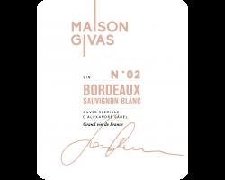 MAISON GIVAS - Famille Sadel - 2017 - Blanc