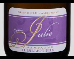 Cuvée Julie - Champagne Billiot - Non millésimé - Effervescent