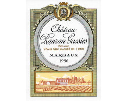 Château Rauzan-Gassies - Château Rauzan-Gassies - 1997 - Rouge