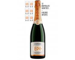 Blanc de Blancs Extra-Brut - EPC Champagne - Non millésimé - Effervescent