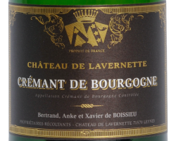 Crémant de Bourgogne - Château de Lavernette - Non millésimé - Effervescent