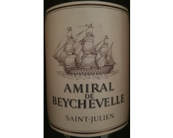 Amiral de Beychevelle - Château Beychevelle - 2012 - Rouge