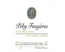 Château Péby Faugères - Château Péby Faugères - 2016 - Rouge