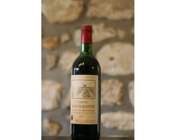 Château Tour Guillotin - Château Tour Guillotin - 1979 - Rouge