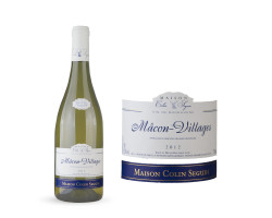 Mâcon Villages Terroir - Maison Colin Seguin - 2012 - Blanc