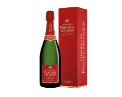 Cuvée Grenat Millésime 2012 - Champagne Prestige des Sacres - 2012 - Effervescent