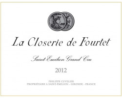 La Closerie de Fourtet - Clos Fourtet - 2012 - Rouge