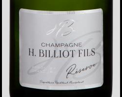 Cuvée Reserve - Champagne Billiot - Non millésimé - Effervescent
