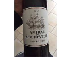 Amiral de Beychevelle - Château Beychevelle - 2018 - Rouge