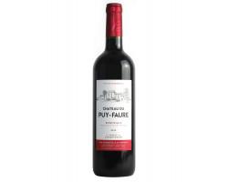 Bordeaux - Château du Puy-Faure - 2018 - Rouge