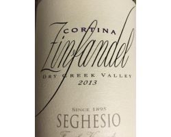 Cortina - Zinfandel - SEGHESIO - 2013 - Rouge