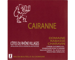 Cairanne - Domaine Rabasse Charavin - 2014 - Rouge