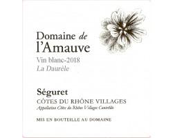 Domaine de l'Amauve, cuvée La Daurèle. - Domaine de l'Amauve - 2019 - Blanc