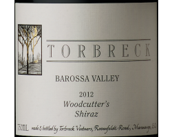 Woodcutter's - shiraz - TORBRECK - 2017 - Rouge