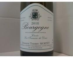 Bourgogne Terroirs De Daix - Domaine Thierry Mortet - 2018 - Blanc